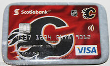 Calgary Flames Scotiabank Canada Visa Promotional Pin Magnet Attachment