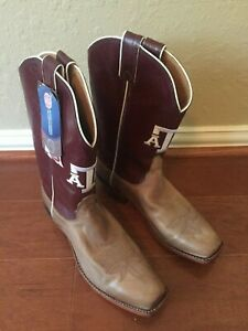 Nocona Leather CollegeBoots Texas A&M - Brand New - Never Worn