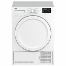 Beko DHY7340W a + 7kg Heat Pump Condenser Dryer in White-BEK-DHY7340W