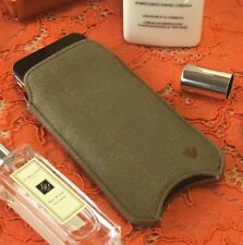 iPhone SE 5S Case Khaki Cotton Twill NueVue Screen Cleaning Sanitizing Pouch