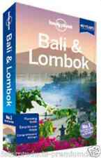 NEW LONELY PLANET BALI AND LOMBOK TRAVEL GUIDE BOOK TROPICAL MAPS CHILDREN CLEAR