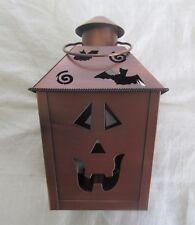 Halloween Metal Lantern, Candle Holder