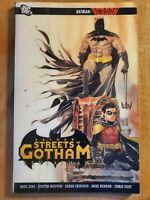 Batman Streets of Gotham v2 Leviathan good condition Reborn Paul Dini