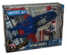 Marvel Captain America The First Avengers Justice Jet Toy Figure Vehicle Set