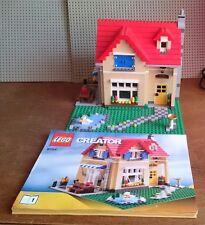 LEGO Creator City Einfamilienhaus 6754 komplett alle Steine und 4 Bauanleitungen