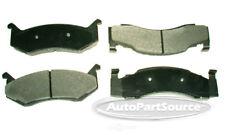 Disc Brake Pad Set-Severe Duty Metallic Pads Front Tru Star PPC123