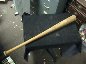 "Vintage H&B Hillerich & Bradsby Wooden Yogi Berra Baseball Bat 33"""