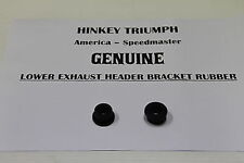 Triumph America Speedmaster Lower Exhaust Grommet Rubber Sold as Pairs