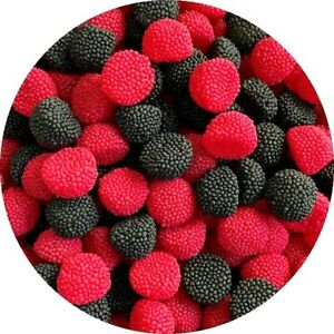 Blackberry and Raspberry BOBBLY BITS RETRO SWEETS 200g-1.5KG Easter Mothers Day