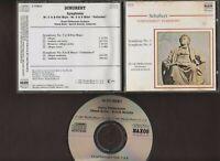 Schubert Unfinished Symphony No 5 & 8 - Zdenek Kosler, Slovak PO - 1987 NAXOS CD