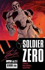 STAN LEE - SOLDIER ZERO #4 COVER B BOOM! STUDIOS 2011