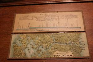 1911 Aeronautical View of The Panama Canal
