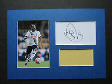 TOTTENHAM HOTSPUR - SPURS DANNY ROSE HAND SIGNED A4 MOUNTED CARD & PHOTO DISPLAY