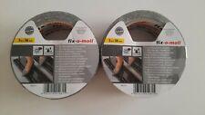 Fix-o-moll Anti Rutschband 2 Stück schwarz 3 m × 38 mm NEU
