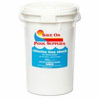 40 Lbs SOPS Chlorine-Free Pool Shock For Swimming Pool (1 x 40 lb Pail)