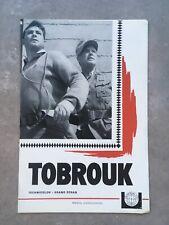 TOBROUK - MANUEL D'EXPLOITATION - UNIVERSAL