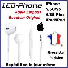 Écouteur Apple Earpods Matériel Original pour iPhone 5, 5c, 5s, 6, 6s, Plus,iPad