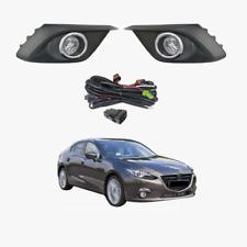 Fog Light Kit for Mazda 3 BM Sedan & Hatchback 2014-2017 with Wiring & Switch