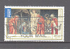 Australia 2012 Christmas Used International post sheet stamp