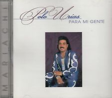 Polo Urias Para Mi Gente Con Mariachi CD New Nuevo Sealed