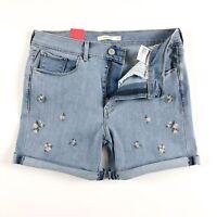 Levi's Shorts Women's Classic Shorts Garden Party Light Blue 29694-0013