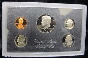 1983 United States Proof Set * 5 Coins * Great Birthday Gift! Coins Only, No Box