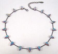 Ausdrucksstarke Modeschmuck-Halsketten & -Anhänger aus Strass und Gemischte Metallen