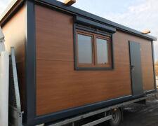 Wohncontainer  6.0m x 2.5m Mobilheim mit Möbeln und einer Toilette