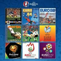 All Panini Euro Cup UEFA albums from Mexico 1980 to 2016 -in PDF- Soccer
