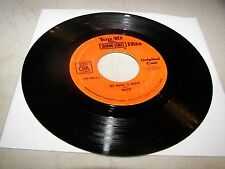 SESAME STREET MY NAME IS DAVID / SUBTRACTION BLUES 45 VG+ CTW-99019 1974