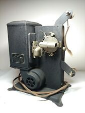 Vintage 8 Mm Stewart Warner Motion Picture Film Projector Model 533 A 8 Mm