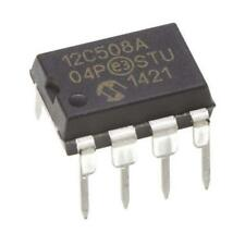4 x Microchip PIC12C508A-04/P, 8bit PIC Microcontroller, 4MHz, EPROM, 8-Pin