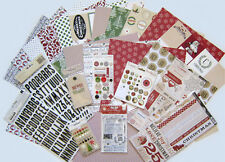 Teresa Collins (CANDY CANE LANE ) Textured Paper & Embellishments  (A) Save 60%