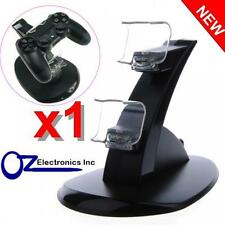 Dual PS4 Wireless & Wired controller charging stand USB Cable BRAND NEW