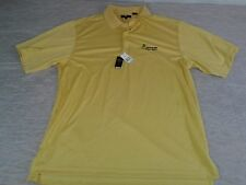 NEW SPRINGLAKE GOLF RESORT XXL 2XL POLO SHIRT MONTEREY CLUB YELLOW