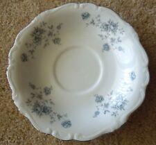 Vintage Johann Haviland China Coffee Cup Saucers Blue Garland Wedding