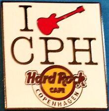 Hard Rock Cafe COPENHAGEN 2012 I (HEART GUITAR) CPH White Tile PIN - HRC #68332