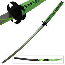 Biohazard Zombie Slayer Toxic Walker Apocalypse Sword Michonne Katana Green