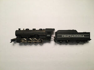 Vintage Ho Scale Tyco Smoking Chattanooga 2-8-0 #638 For Parts or Repair