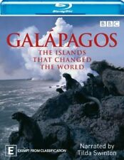 GALAPAGOS (Blu-ray, 2008, 2-Disc Set) BRAND NEW - NARRATED BY TILDA SWINTON