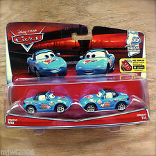 Disney PIXAR Cars DINOCO MIA & TIA diecast DINOCO DAYDREAM 7/9 Two-Pack Blue