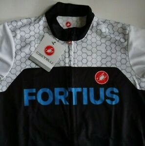 Castelli Men's Podio Fortius Jersey, Brand New w/ Tags, M