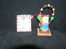 """SMORES Angel Christmas Ornament Gooseberry Patch Midwest of Cannon Falls 3.5"""""""