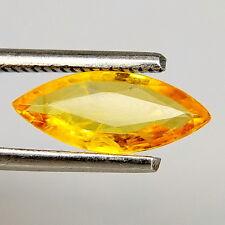 TOP SAPPHIRE : 1,58 Ct Natürlicher Orange Gelb Saphir aus Tansania