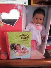 American girl Bitty Baby Doll, BB8 Med Skn  Brn Eyes TEXTURED BRN Hair BOOK NIB