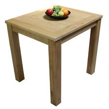 Oak Table Fixed Top Restaurant Conservatory, Dining Room, Kitchen, Living