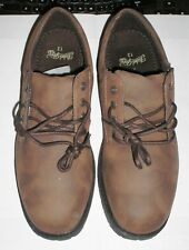 NEW Mens Faded Glory Faux Brown  Lace Up Casual Oxford Shoes Size 13