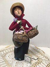 1994 Byers Choice Caroler 'Cries of London - Flower Vendor Lady'