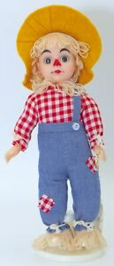 NWT VTG Wizard of Oz Scarecrow World Doll Ltd Edition Crown Princess Collection