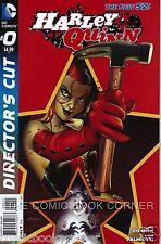 DC Comics 2013 New 52 HARLEY QUINN #0 Directors Cut 2nd Print NM Red Variant